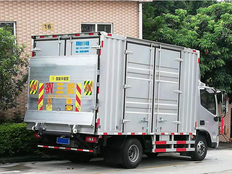Aluminum alloy truck tail lift