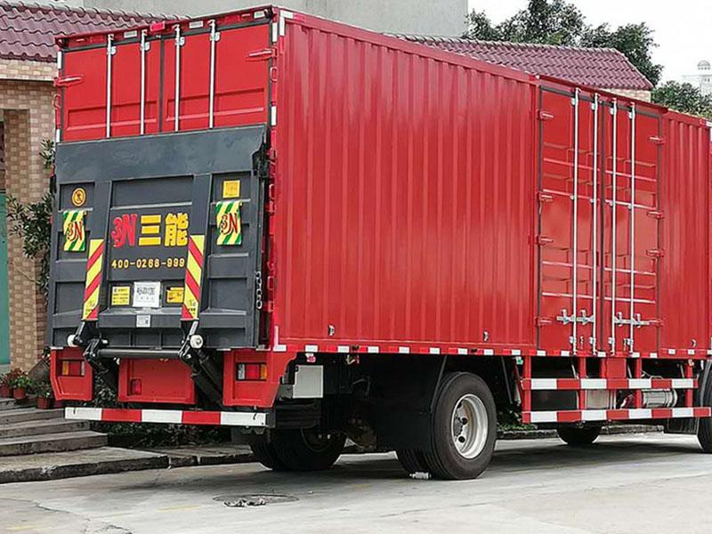 9.6m truck tail lift