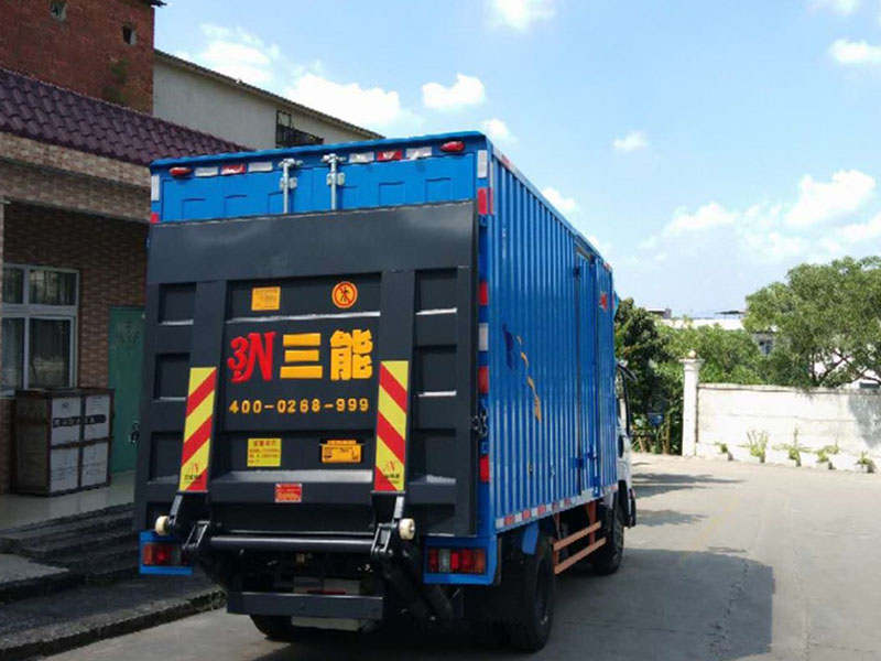 6.2m truck tail lift